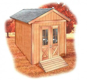 FREE Shed Plans - 12' x 8' Garden Shed